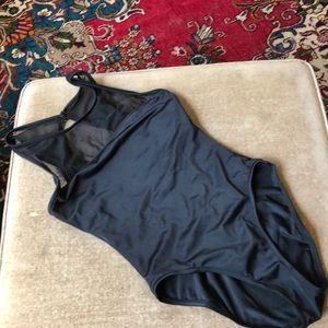 Anne Klein sirena black bathing suit size 20 GUC